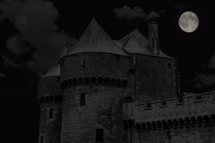 Medieval castle in Guerande Brittany Stock Photography