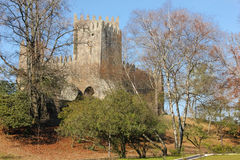 Medieval castle . Guimaraes. Portugal Royalty Free Stock Images