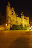 Medieval Castle Het Steen, Antwerp, Belgium Royalty Free Stock Photos