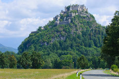 Medieval castle Hohostervits, Austria, K?rnten Stock Images