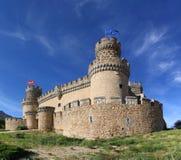Medieval castle. Castle in Hoyo de Manzanares, Madrid, Spain Royalty Free Stock Images