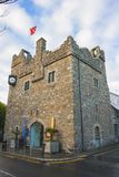 Medieval Castle in Ireland Stock Photo