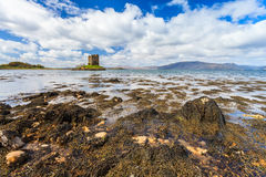 Medieval castle on a island Royalty Free Stock Photo