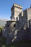 Medieval Castle in Italy Stock Images