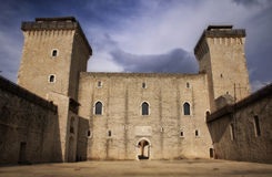 Medieval castle in Italy Royalty Free Stock Photography