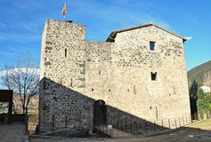 Medieval castle of junvinya Stock Photography