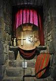 Medieval castle of junvinya Stock Photos