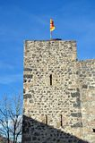 Medieval castle of junvinya Stock Image