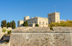 The medieval Castle Royalty Free Stock Image