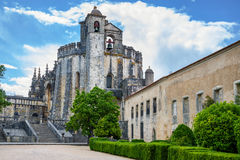 Medieval castle of the Knights Templar. Portugal Royalty Free Stock Image