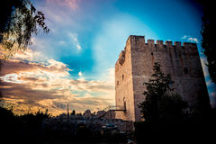 The medieval castle of Kolossi. Limassol. Cyprus Royalty Free Stock Photography