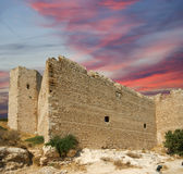 Medieval Castle of Kritinia in Rhodes Greece, Dodecanese Royalty Free Stock Image