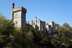 Medieval Castle in Lismore stock photography