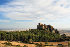 Medieval castle of Loarre, Spain Royalty Free Stock Photos