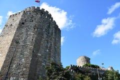 Rumeli Hisar castle, Istanbul, Turkey stock photography