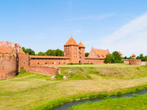 Medieval castle in Malbork Royalty Free Stock Image