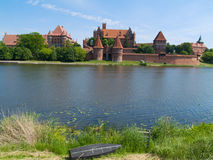 Medieval castle in Malbork Royalty Free Stock Photography
