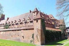 Medieval castle in Malbork / Marienburg. Poland Stock Photo