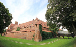 Medieval castle in Malbork / Marienburg. Poland Stock Photo