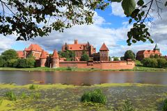 Medieval Castle Malbork Royalty Free Stock Images