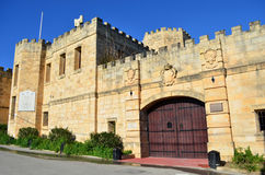 Medieval castle - Malta Stock Images