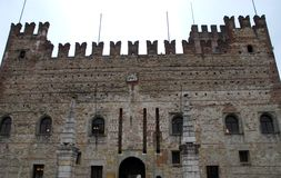 Medieval castle in Marostica in Vicenza in Veneto Italy. Photo made to Marostica's medieval castle in the province of Vicenza in Veneto Italy. In the image Stock Photos