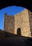 The medieval castle in Marvao, Portalegre, Alentejo, Portugal. Royalty Free Stock Photo