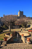 The medieval castle in Marvao, Portalegre, Alentejo, Portugal. Royalty Free Stock Photography