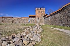Medieval castle, Medininkai, Lithuania Royalty Free Stock Images