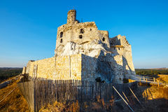 Medieval castle Mirow in Poland Royalty Free Stock Photos