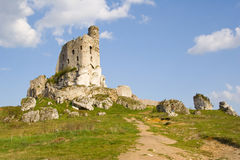 Medieval castle Mirow Stock Photo