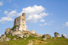 Medieval castle Mirow Stock Image
