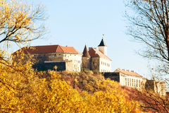 Medieval castle in Mukachevo Royalty Free Stock Images
