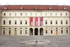 Medieval Castle Museum in Unesco city of Weimar Royalty Free Stock Image