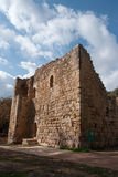 Medieval,  castle near jerusalem Royalty Free Stock Images