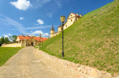 Medieval castle in Nesvizh Stock Photography