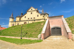 Medieval castle in Nesvizh Royalty Free Stock Image
