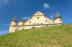 Medieval castle in Nesvizh Stock Image