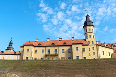 Medieval castle in Nesvizh, Republic of Belarus. Royalty Free Stock Photos