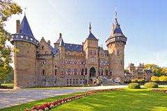 Medieval castle in the Netherlands Stock Photography