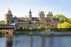 Medieval castle in the Netherlands Stock Image