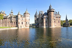 Medieval castle in the Netherlands Royalty Free Stock Photos