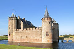 Medieval castle in the Netherlands Royalty Free Stock Image