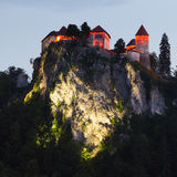 Medieval Castle Of Bled, Slovenia Royalty Free Stock Images