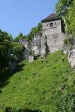 Medieval castle in ojcow, poland Royalty Free Stock Photos