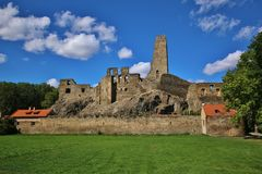 Medieval Castle Okor Royalty Free Stock Images