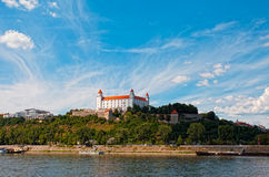 Free Medieval Castle On The Hill Royalty Free Stock Photos - 32925198