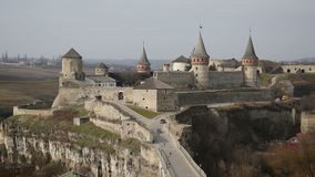 Medieval castle stock footage