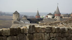 Medieval castle stock video footage