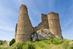 Medieval castle of Orcau, Catalonia Royalty Free Stock Images